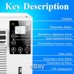1000W Portable Heater Air Conditioner Cooling/Heating Timing Dehumidification