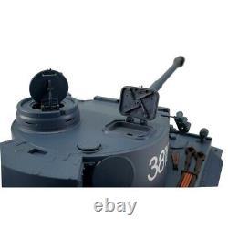 116 Heng Long German Tiger I RC Tank Airsoft & Infrared 2.4GHz TK6.0S