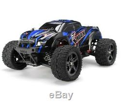 116 SMAX RC Monster Truck 4WD Electric Motor Remote Control Off Road RTR Blue