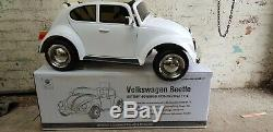 12V Kids Ride On Car Electric Licensed VW BEETLE Remote Control Twin Motors USB