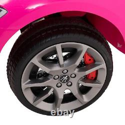 12V Maserati Licensed Pink Kids Ride On Electric Car with Music Remote Control