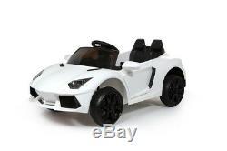 12v Lamborghini Style Kids Ride On Car Electric Battery Remote Control
