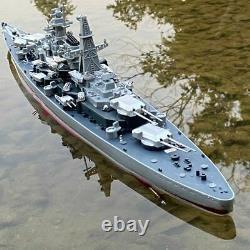 1360 Scale 28 Remote Controlled Warship Battleship RC Ship 20-25km/h On Lake
