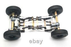 1/24 DIY Z2 RC Crawler Car Kit Remote Control Climbing Car Model