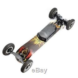 2000W Electric Skateboard Maple Off Road Type 40km/h Speed With Remote Control