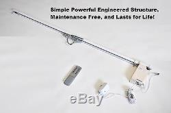 20 ft Remote Controlled Automatic Electric Traverse Curtain Track Rod DIY kit