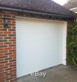 2310mm (7ft 7) x 2135mm (7ft) Insulated Remote Control Roller Garage Door