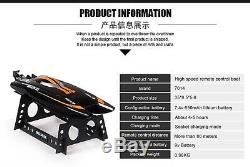 2.4G Remote Control Double Horse 7014 High Speed Boat RC Racing Toys Skytech RTR
