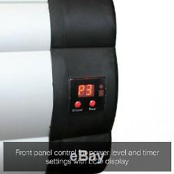 3KW Outdoor Electric Patio Heater Garden Wall Mounted Infrared Weatherproof