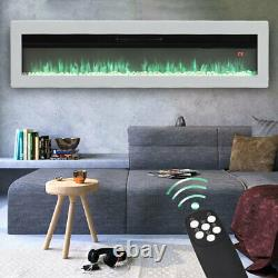 40/50/60 Electric Fireplace Freestanding Wall/Insert Mounted Fire Suite Heater