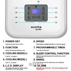 4in1 Air Conditioner Portable Conditioning Unit 9000BTU 2.6kW 3 Speed Cooler