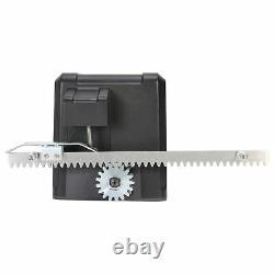 600KG Automatic Electric Sliding Gate Opener Kit Door 2 Remote Control Racks
