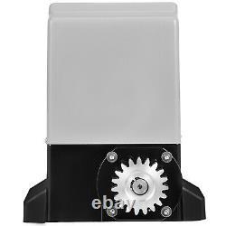 600KG Automatic Sliding Gate Opener Kit Door Electric 2 Keys With 4m Racks 220V