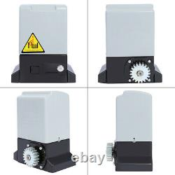 600kg Sliding Gate Opener Electric Operator Automatic Motor with Remote Control