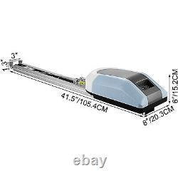 Automatic Garage Door Opener Motor Electric Retractable Operator & Remotes 1000N