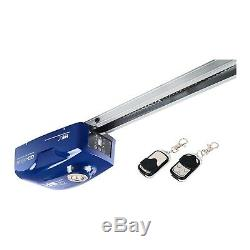 Automatic Remote Garage Door Opener Motor 2 Controls 800N Force Halogen Lamp