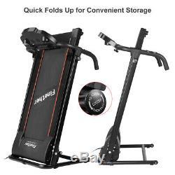 BLUETOOTH TREADMILL Electric Motorised Folding Running Machine Jogging Fitness A