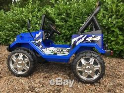Children 12v Electric Ride On Car Jeep Truck 4X4 2.4G Remote control 2 seats