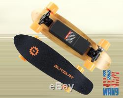 Cruiser Board Electric Skateboard Wireless Remote Control Hub Boost Motor Wheel
