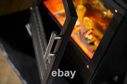 DIMPLEX Bari Optiflame Electric Stove 2KW BAR20 REMOTE LOG EFFECT FIRE HEATER