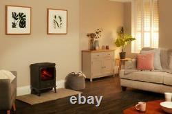 Dimplex Evandale 2kW Optimyst Electric Stove Fire Heater Black EVN20