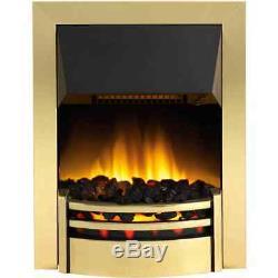 Dimplex KNS20 Kansas Coal Bed Electric Fire Brass