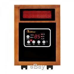 Dr. Infrared Heater DR-968 1500-watt Portable Space Heater IL