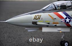 Dual 80mm rc airplane jet model F-14 Tomcat KIT with servo plane for adults NEW