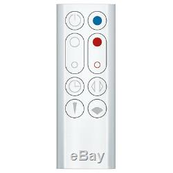 Dyson AM09 Hot + Cool Bladeless Fan Heater White. 2 Year Dyson Warranty