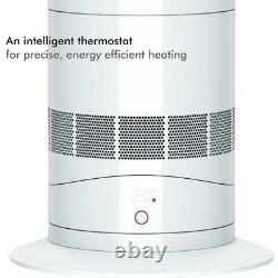 Dyson AM09 Hot and Cool White/Silver Jet Focus Fan / Heater + 2 Year Warranty