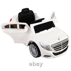 Electric Kids Ride On Car RC Remote Control Mercedes-Benz Licensed S600 12V