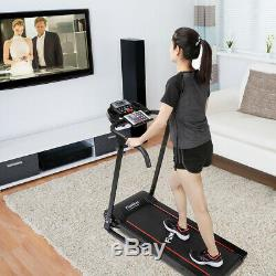 Electric Motorised Treadmill 12Programs BLUETOOTH APP With Heart Rate Monitor UK