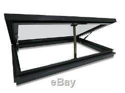 Electric Opening Skylight (800mm x 1200mm) For Flat Roof, Remote Controlled