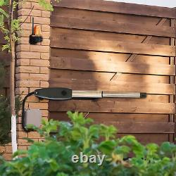 Electric Swing Gate Opener Operator Dual Arms Remote Control Automatic Door Kit