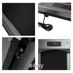 Electric Treadmill Home Office Walking Pad Cardio Running Machine UK Plug Remote