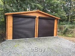 Electric garage doors roller door remote controlled garage doors