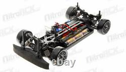 Exceed RC 1/10 MadSpeed DriftKing Brushless Remote Control Drift Car LED SK Grey