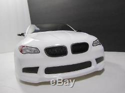 Fully Custom 1/10 Scale Remote Control On-road Drift Car BMW M5 RC CAR WHITE