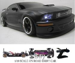 Fully Custom 1/10 Scale Remote Control On-road Drift Car FORD MUSTANG
