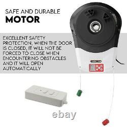 Garage Roller Door Opener Motor Rolling Gate Automatic Remote Control 1000N 22m²