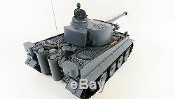 German Tiger 1 Remote Control RC Military Army World War Tank Smoke Sound Model