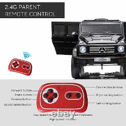 HOMCOM Mercedes Benz G500 12V Kids Electric Ride On Car Toy with Remote Control