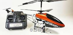 HUGE Metal Remote Control RC Syma 9053 Volitation Alloy 3ch GYRO R/C Helicopter