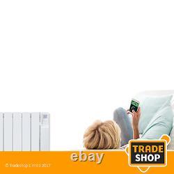 Heatstore Intelirad Hsdi500 Oil-filled Electric Radiator 500w With Bluetooth