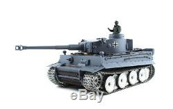Heng Long Radio Remote Control RC German Tiger Tank UK - Platinum Version 1/16