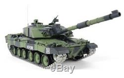 Heng Long Radio Remote Control Tank British Challenger 2 Tank 2.4G Camouflage UK
