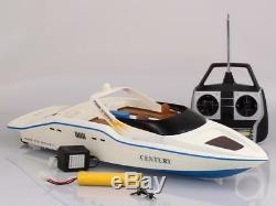 High Speed Radio Remote Control RC Century Racing Speed Boat White BLACK FRIDAY