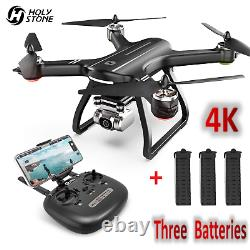 Holy Stone 4K GPS HS700D RC Drones with 5G HD Camera RC Quadcopter 3 Batteries