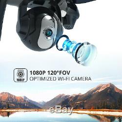 Holy Stone HS100 FPV 2.4G RC Quadcopter Drone with HD 1080p WiFi Camera GPS RTF