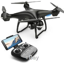 Holy Stone HS100 FPV Drone with Camera 1080P HD GPS RTF Selfie Quadcopter LED UK